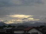 2011年夏至の夕暮れ(18時45分)