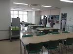 熊本総合車両所社員食堂内部