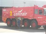 中部国際空港の消防車