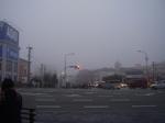 霧の朝の風景(その2)
