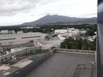 3号館展望台から筑波山を望む